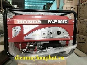 Máy phát điện Honda EC4500CX Đề Nổ