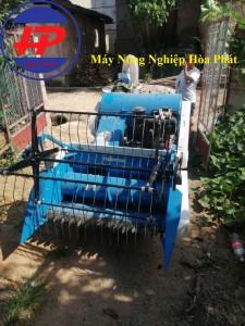 Máy gặt lúa liên hợp Mini 4LZ-0.6LA
