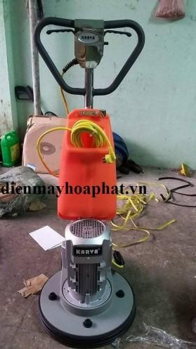 Máy chà sàn tạ công nghiệp Karva KVG-17F, đánh sàn gỗ, sàn gạch, sàn bê tông hiệu quả.