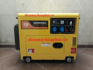 Máy phát điện Diesel SAMDI SD6800EC