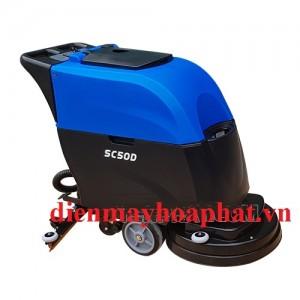 Máy chà sàn liên hợp Supper Clean SC-50D ắc quy
