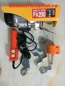 Tời điện Mini PA 200