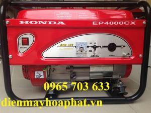 Máy phát điện Honda EP4000CX giật nổ